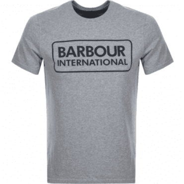 e0a8be9a884b21 Barbour International Graphic T-shirt in Grey .mts0369