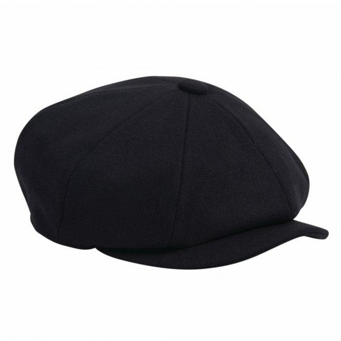 Barbour Barbour Melton Bakerboy Hat in Navy .mha0491 1d41dd22669