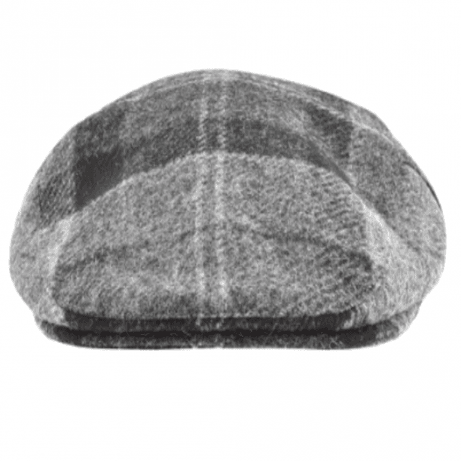 b290dd37 Barbour Barbour Moons Tweed Cap in Black/Grey Tartan .mha0295