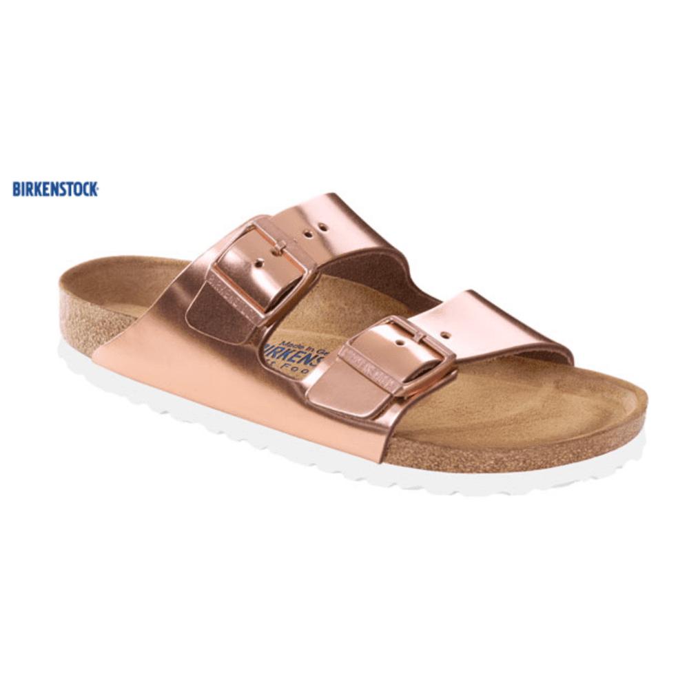 e2edd7005e8e Birkenstock Birkenstock Arizona Sandal in Metallic Copper