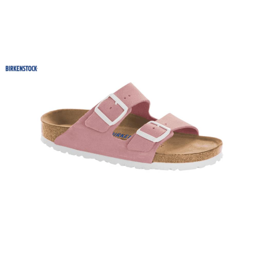 93c165eabae1c9 Birkenstock Birkenstock Arizona Suede Sandal in Rose Pink