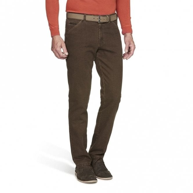 Meyer Trousers Chicago in Brown 44