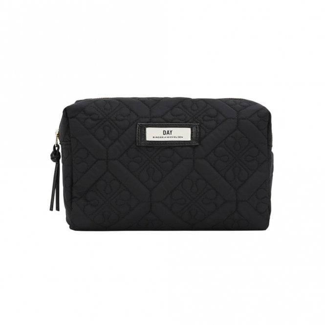 Day Birger et Mikkelsen Gweneth Quilted Wash Bag in Black .185475704