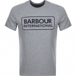 Barbour International Graphic T-shirt in Grey .mts0369
