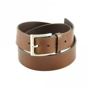 Loake James belt in brown