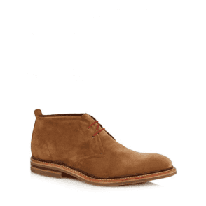Loake Sandown Brown suede