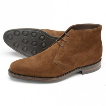 Loake Pimlico brown suede