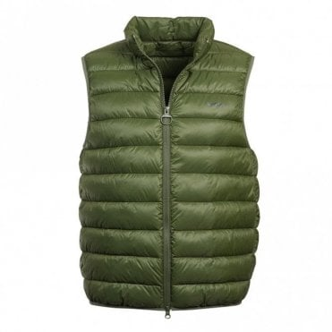Barbour Bretby Gilet in Green .mgi0024