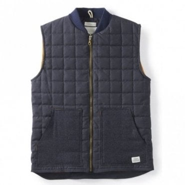 Peregrine mens quilted gilet