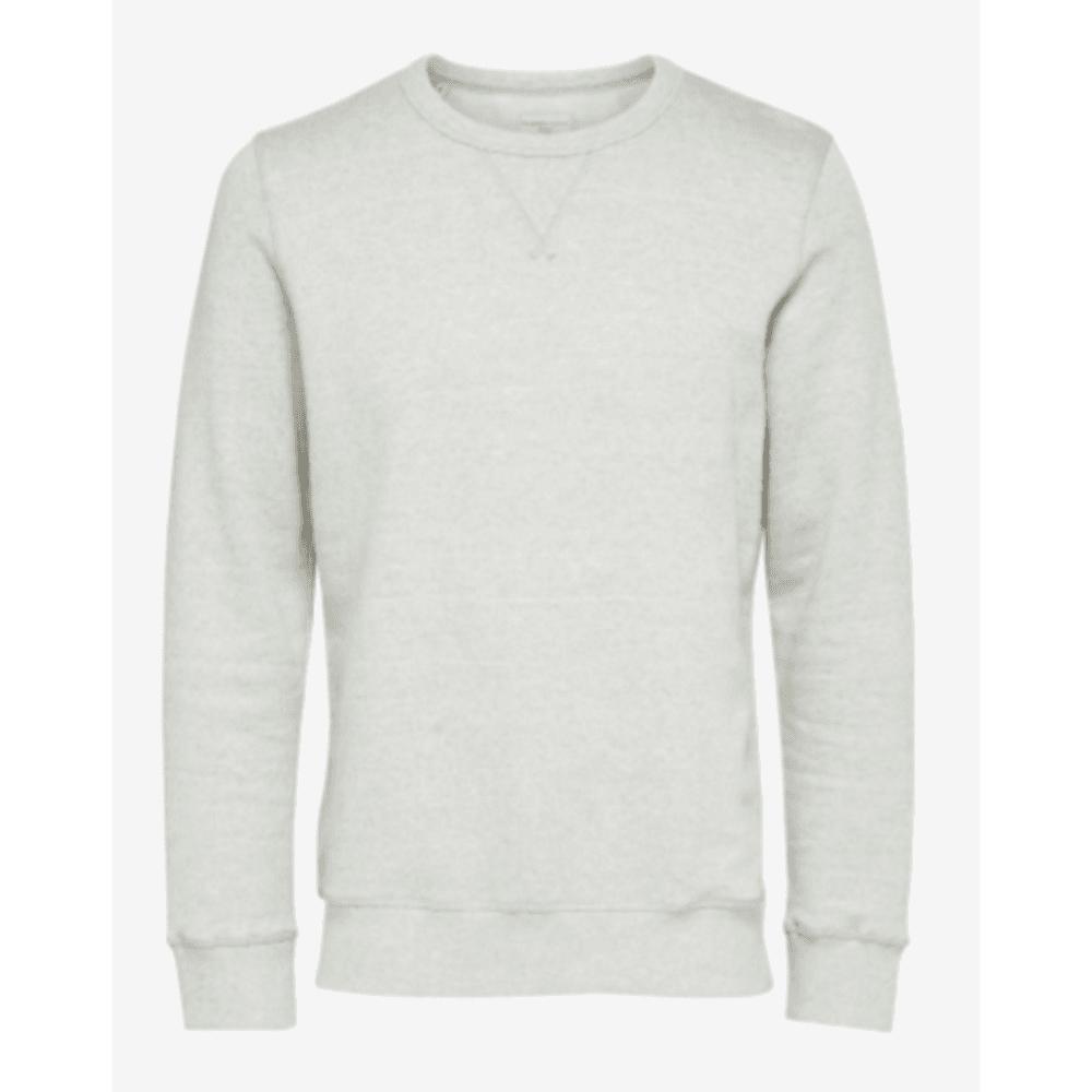 69742aa1c37 Selected Homme Selected Homme Basic Sweatshirt in Light Grey Melange  .16059781